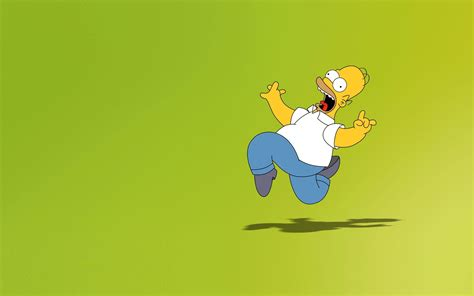 wallpaper for desktop cartoon homer simpson desktop wallpapers wallpaper cave