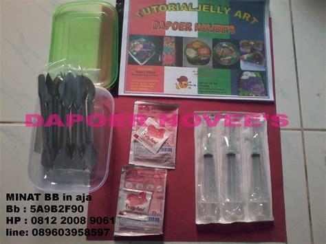 Alat Jelly belajar jelly bunga batik motif cirebon
