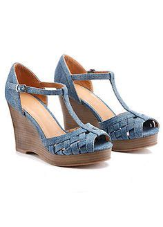Blue Wedge Sandals Wedding by Blue Wedges Odeon S Blue Green Two Tone Peeptoe