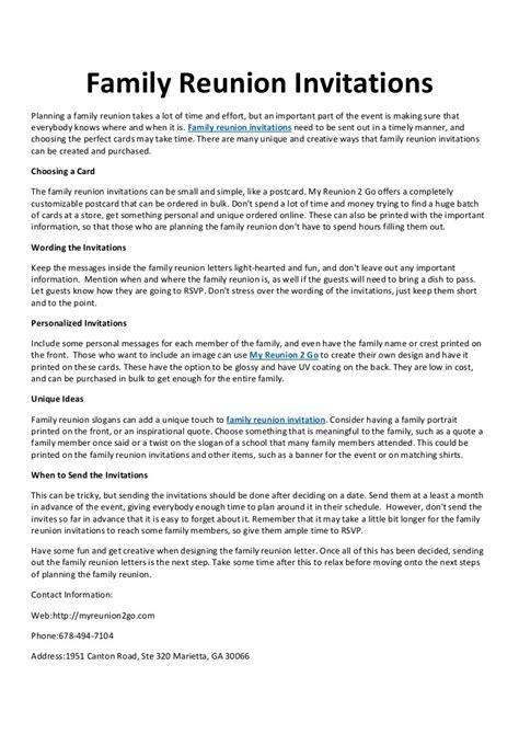 Rent With Reservation Letter Virginia invitation reunion inspirationalnew family reunion invitations mefi co fresh invitation