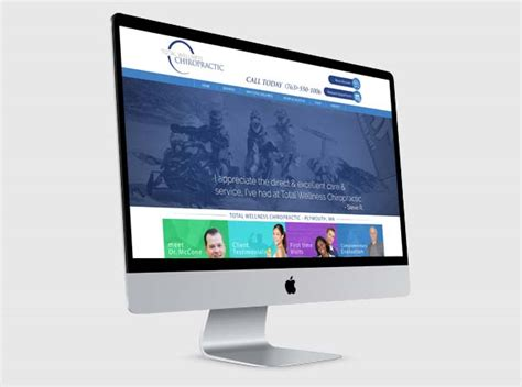 precision chiropractic and wellness plymouth mn chiropractic web design chiropractor website
