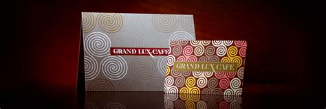 The Gift Card Cafe - grand lux cafe gift cards