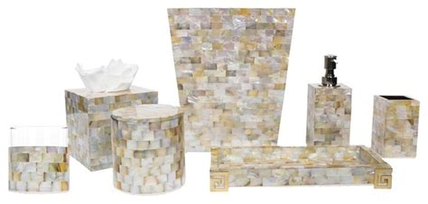 mother of pearl bathroom accessories bath accessories mother of pearl gold collection
