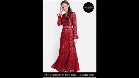 Baju Zirah Terkenal baju muslim gamis rancangan terkenal untuk lebaran 2017