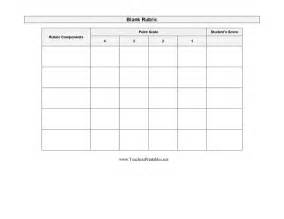 Blank Rubric Template by Blank Rubric Template White Gold