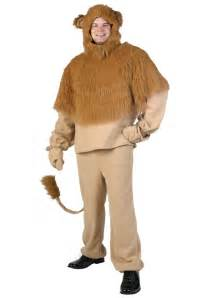 cowardly lion halloween costume plus cowardly storybook lion costume plus size wizard of