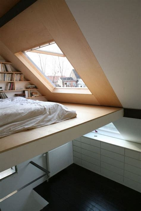 mezzanine bed vaulted ceiling with a loft bed space bedrooms pinterest