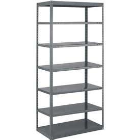 shelving steel shelving open tri boro n b sturdi frame open shelving unit 36 quot w x 18 quot d x 87