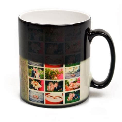personalised heat change mug custom heat sensitive mug