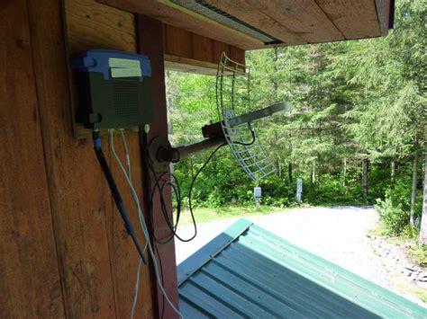 Router Parabola wifi range link experiment