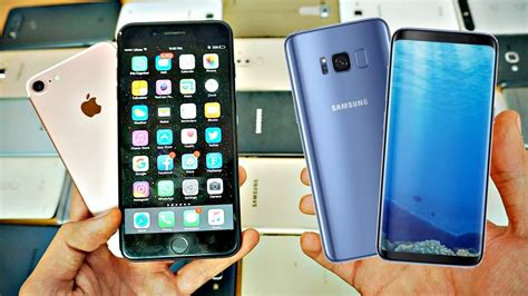 samsung galaxy s8 s8 vs iphone 7 7 plus which should you buy early comparison