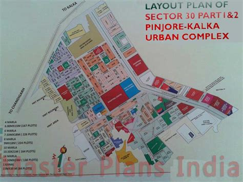 layout plan sector 30 pinjore huda pinjore sector 30 map master plans india