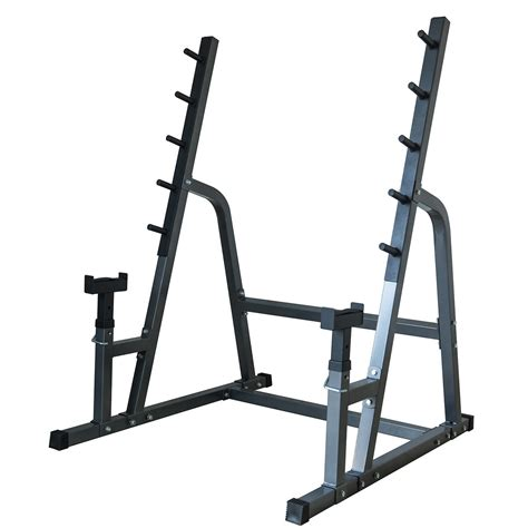 squat and bench rack combo deluxe squat bench combo rack fitness exercise equipment