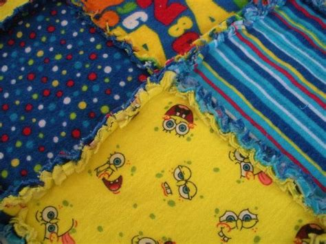 Spongebob Quilt by 17 Best Images About Snuggly Fleece Tie Blankets And Stuff On No Sew Fleece A 4