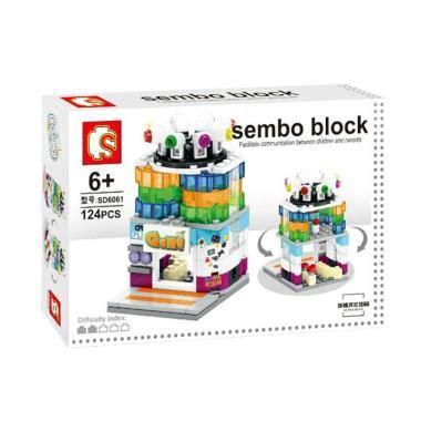 Mainan Anak Sembo Block Showroom Mini 160 Pcs jual sembo sd6061 room mini blocks harga kualitas terjamin blibli