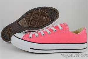 Converse Original Low Pink by Converse All Chuck Ox Low Carnival Pink Black