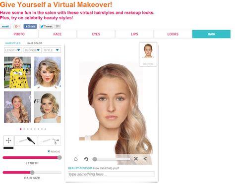 virtual makeover 2014 3 sites de relooking virtuel gratuit en ligne coiffure