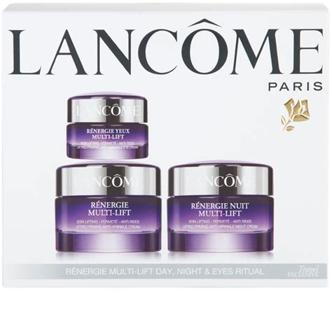 Lancome Renergie Multi Lift lanc 212 me r 201 nergie multi lift cosmetic set iii notino co uk