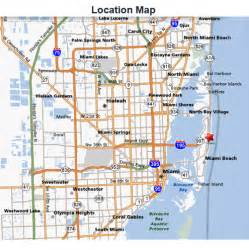 Map Miami by Miami Transit Routes And Map Bing Images