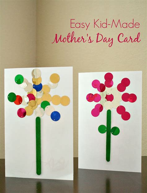 mothers day card to make easy s day card can make