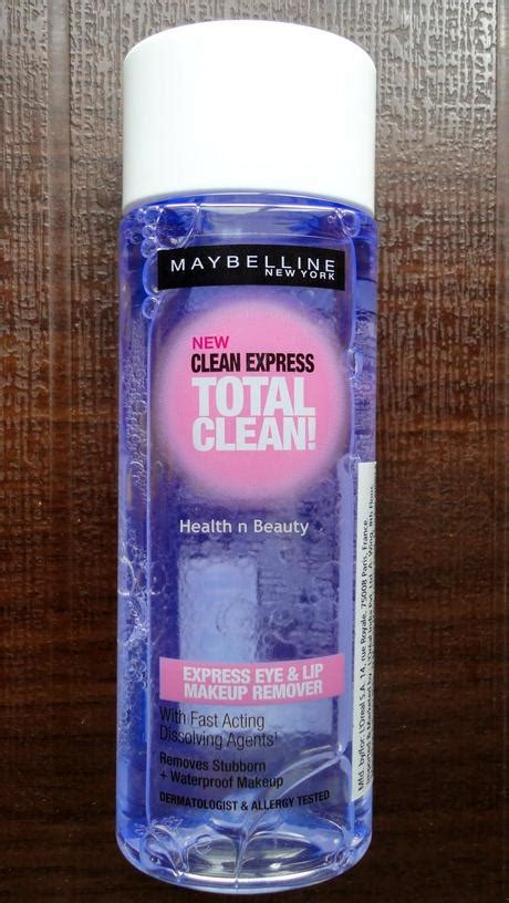Maybelline Eye And Lip Makeup Remover maybelline clean express eye lip makeup remover paperblog