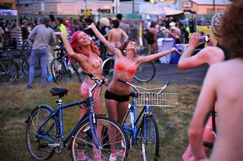 banana boat ride brighton world naked bike ride occupy portland and the year in