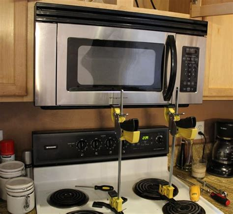install over the range microwave without cabinet how to install an over the range microwave jackcl