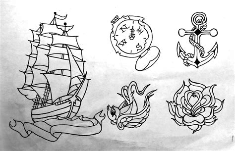 practice tattoo designs practice flash by xethnex on deviantart