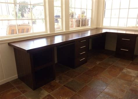 custom l shaped desk crafted l shape desk by woodcreations by clarissa