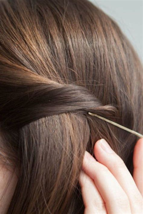 easy hairstyles no bobby pins 21 bobby pin hairstyles you can do in minutes wedding