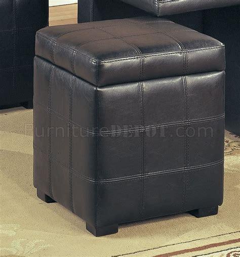 dark brown leather ottoman coffee table dark brown leather stylish coffee table w 4 storage ottomans