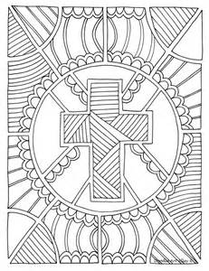 great christian doodle design coloring therapy
