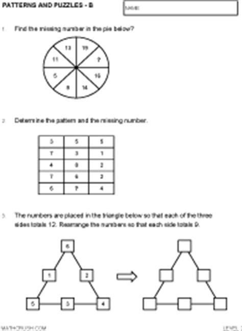 what is general pattern in math general pattern math worksheets color the pattern party