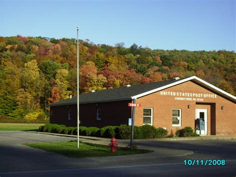 cherry tree pa cherry tree pa cherry tree post office in autumn photo picture image pennsylvania at city