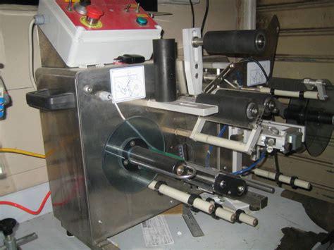 etichettatrice da banco etichettatrice da banco tenco gt enologica
