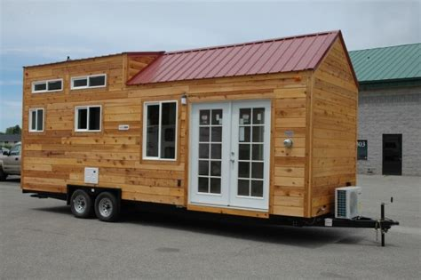 tiny house siding 208 sq ft tiny house on wheels by tiny idahomes