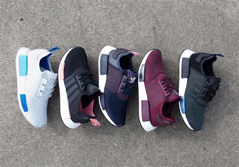 Nmd R1 Primeknit New Silhoutte Black Burgundy 100 Original Adidas how we re getting adidas nmd sneakers to singapore