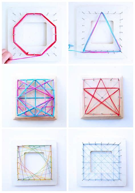 String Geometry - math idea explore geometry through string