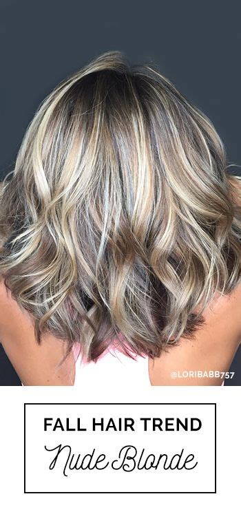 best lowlights for cool skin the best fall blonde hair color trend go nude nude