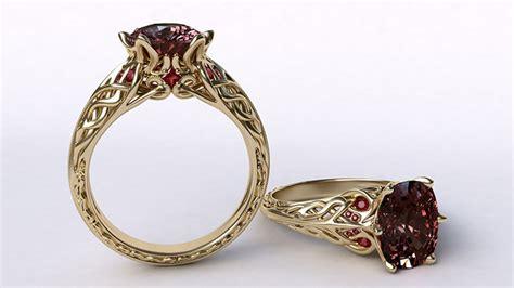 Heike Grebenstein Model Turns Jewelry Designer by Gemvision Cad Matrix V 8