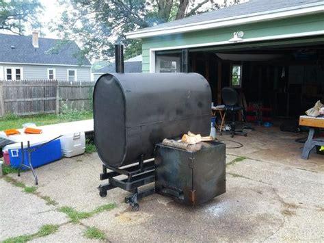 building testing my pit barrel smoker in 2018 diy pit barrel smoker barrel center firebox the bbq brethren forums