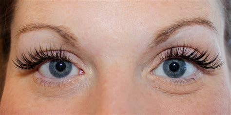 Eye Lash eyelash extensions beautiful you by christine permanent