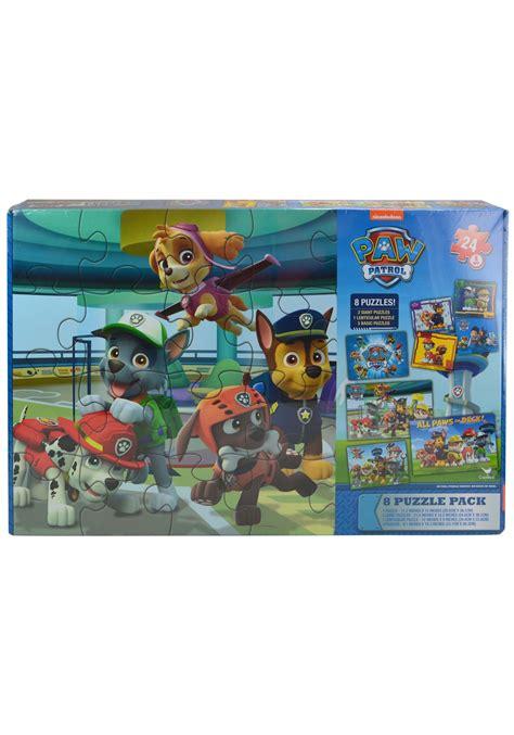 Paw Patrol Set 8 paw patrol 8pk jigsaw puzzle set
