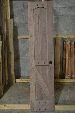 hand  rustic barn style doors  corey morgan wood