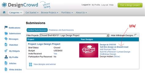designcrowd pricing how to sell unused logo designs on brandcrowd