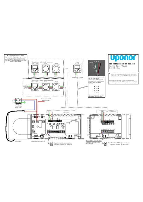 wirsbo thermal actuator wiring diagram wiring diagram