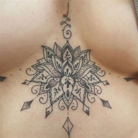 between breast tattoos 17 best ideas about underboob on chest