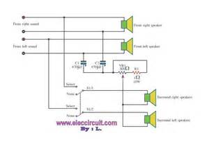 simple create surround sound circuit wiring diagrams