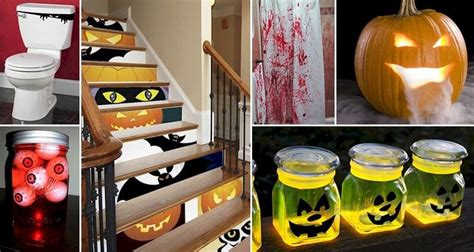 16 easy but awesome homemade halloween decorations with 16 awesome diy halloween decorations that will terrify