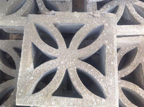 decorative blocks for garden walls 13 x decorative garden wall blocks ideal for patios and